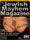 Jewish Mayhem Magazine cover