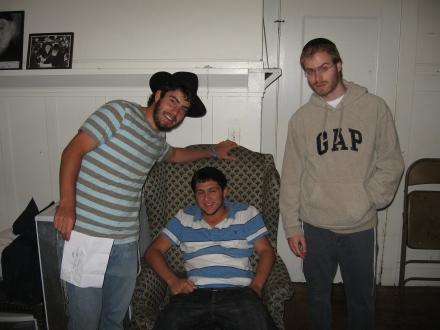 Two Rabbis Three Bochurs