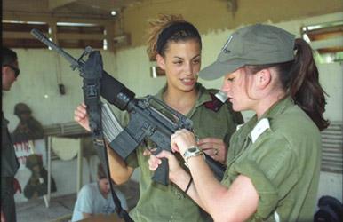 women IDF