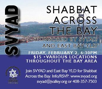 SVYAD Shabbat feb