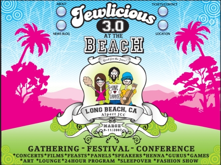 Jewlicious Festival frontpage image