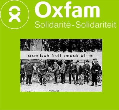 Oxfam boycottIsrael