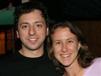 Anne Wojcicki Sergey Brin