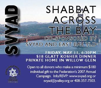 SVYAD YLD Shabbat May 112007