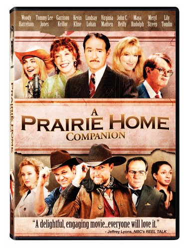 Prairie Home Companion movie poster